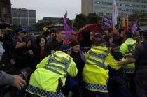 澳洲雪梨大學的罷工抗爭。(照片提供:袋鼠文化工作室)