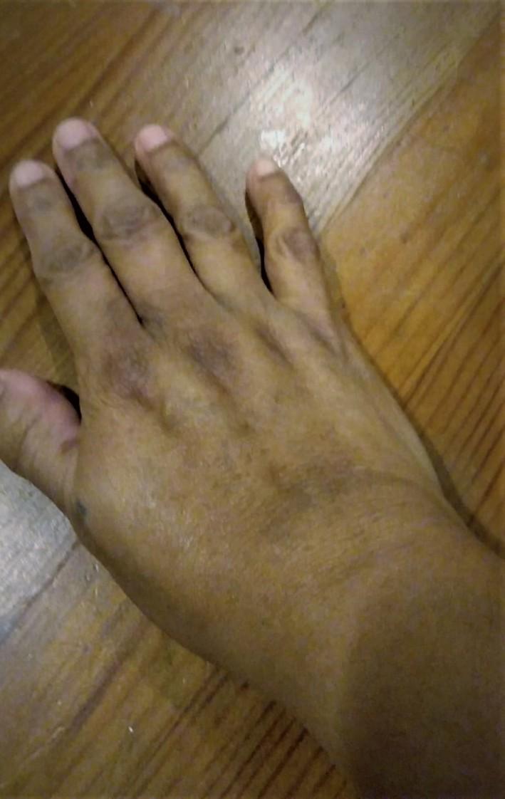 Lia's Hand